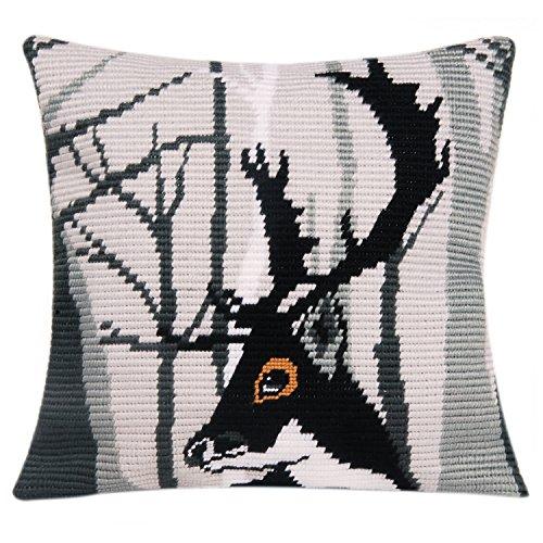 Vervaco Hugo Pillow Cover Needlepoint Kit