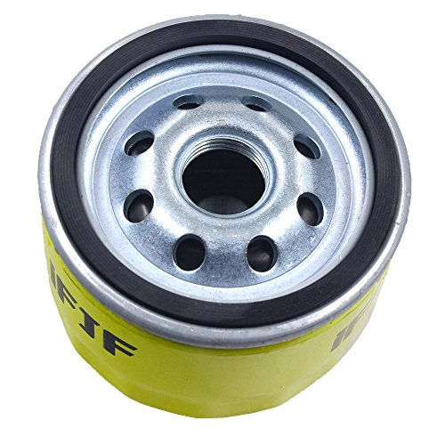 Spin-on Oil Filter Replace 696854, AM125424, 492932, GY20577, 49065-7007 for Briggs & Stratton, JOHN DEERE and KAWASAKI Lawn Mower Engines(Pack of 1)