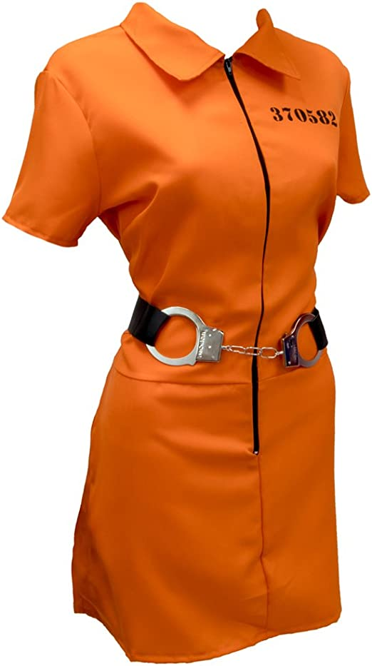 Amazon.com: Traje de Halloween intimo de prisionera, Traje ...