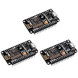 Keywish ESP8266 Module ESP-12E NodeMcu LUA CP2102 WiFi Internet New Version Development Board for Arduino IDE/Micropython (Pack of 3pcs)