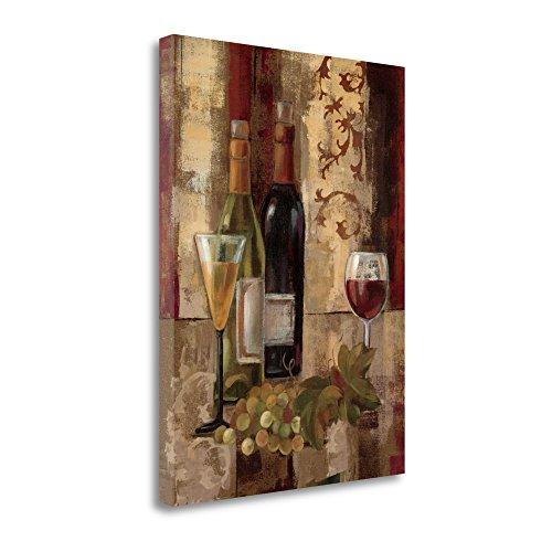 """Graffiti And Wine III"" By Silvia Vassileva, Fine Art Giclee"