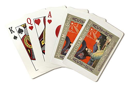 Astra Vintage Poster (artist: Anonymous) Switzerland c. 1900 (Playing Card Deck - 52 Card Poker Size with (Astra Playing Cards)