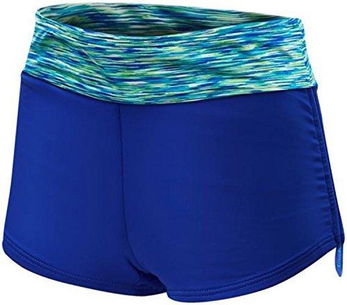 d373f3ed2dc6 TYR Women's Sonoma Active Mini Swim Boyshort Royal Swimsuit Bottoms SM