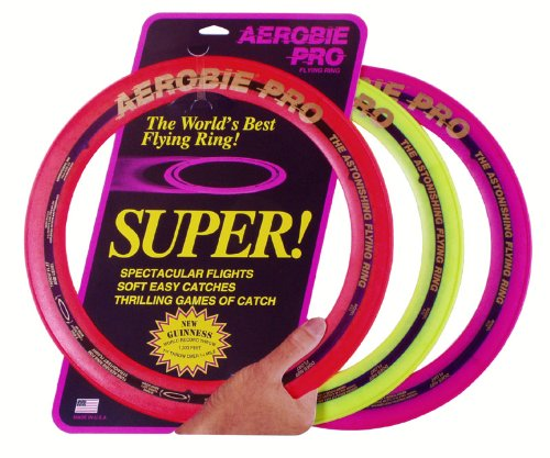 Aerobie 13'' Pro Ring - Set of 3 (Colors may vary) by Aerobie