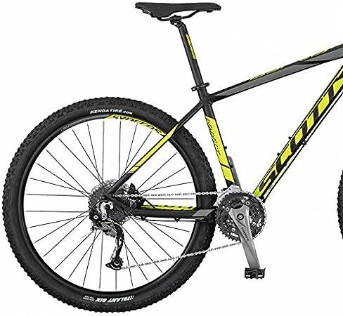 Scott Aspect - Bicicleta 740, color negro, amarillo y gris ...