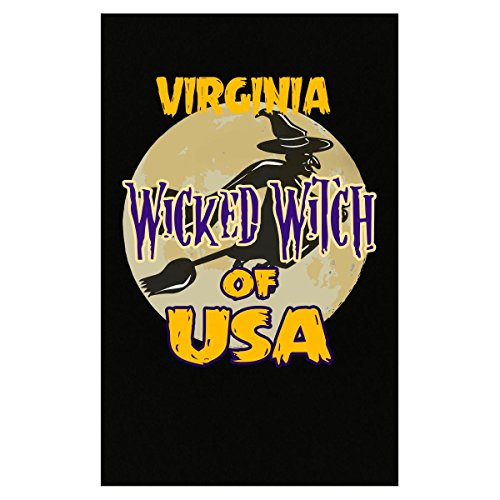 Prints Express Halloween Costume Virginia Wicked Witch of USA Great Personalized Gift - Poster