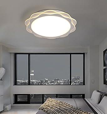 Deckenleuchten Wohnzimmer Schlafzimmer Minimalist Modernen, Kreativen  Ultradünnen Schlafzimmerdecke Romantische Wohnzimmer LED Lampe  Innenbeleuchtung YANGFF