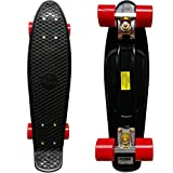RIMABLE Complete 22'' Skateboard BlackRed