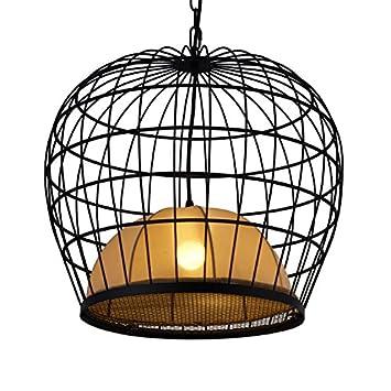 Cage Kronleuchter Eisen Vogelkafig Licht Chinesischen Stil Von