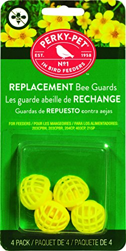 Perky-Pet 205Y Replacement Yellow Bee Guards