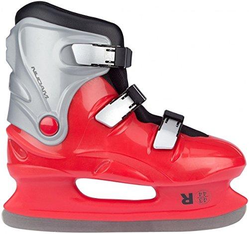 Patins à glace Junior Rouge Taille 45/46 Nijdam