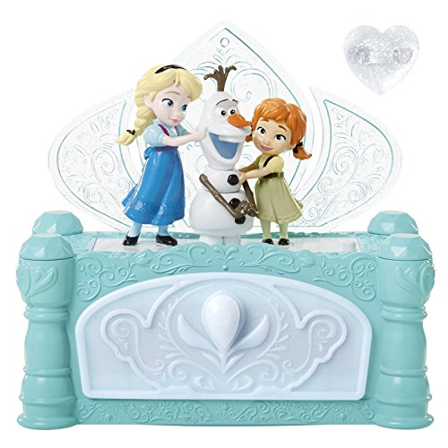 Disney Frozen Do You Want To Build A Snowman Musical Jewelry Box Music Girl Kid