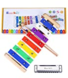 Kids Xylophone Wooden Musical Toys - Smarkids Prime 8 Note...