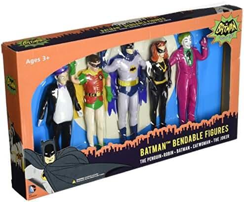 NJ Croce Batman Classic TV Series Bendable Boxed Set