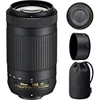 Nikon 70-300mm f/4.5-6.3G VR DX AF-P ED Zoom-Nikkor Lens - (Certified Refurbished)