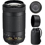 Nikon 70-300mm f/4.5-6.3G VR DX AF-P ED Zoom-Nikkor Lens - (Certified Refurbished)