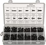 192 Piece Shield & Push Type Retainer Assortment