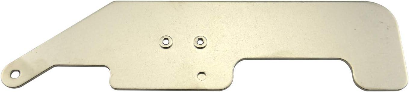 DREAMSTITCH Base Plate for Overstitch Binder Attachment Plate for Janome COVERPRO 900,1000,1000CP,1000CPX,2000,Elna 795824025