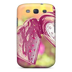 Durable Defender Case For Galaxy S3 Tpu Cover(heart Watch)