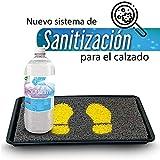 Limpro | Tapete Lavable Sanitizante de Alta Calidad para Calzado | 46 x 35.5 cm | Elimina bacterias y microorganismos | Hogar | Incluye 1 Litro de Sanitizante