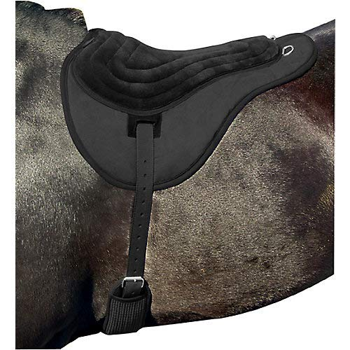 (Intrepid International Comfort Plus Bareback Pad, Black )