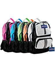 BAZIC 17 Active Backpack,color may vary