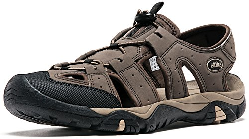 Atika Men's Sports Sandals Trail Outdoor Water Shoes 3Layer Toecap M108 M107 M106
