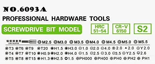 JN-6093A Bao Sheng@ 45-in-1 Multi-function Screwdriver Set //Disassemble Combination Tool //Sleeve Precision Screw Screwdriver Combination