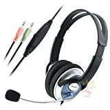 Everydaysource Handsfree Headset with mic for Skype, Office Central
