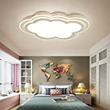 MILUCE Child clouds ceiling lights bedroom living room ceiling lamps ( Color : White light , Size : 45656CM )