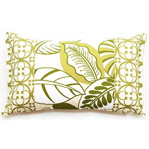 Corona Decor Rectangular Floral Outdoor Living Throw Pillow (Corona Patio Furniture)