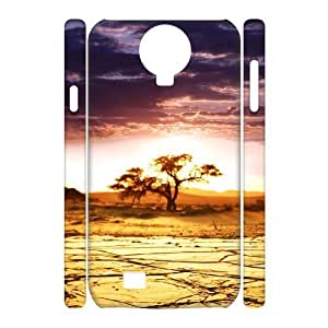 Diy Nature Desert Phone Case for samsung galaxy s4 3D Shell Phone JFLIFE(TM) [Pattern-2] Kimberly Kurzendoerfer