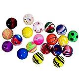 Onepine 20PCS Bouncy Balls Rubber Balls Party Bag Filler,High Bouncing Balls