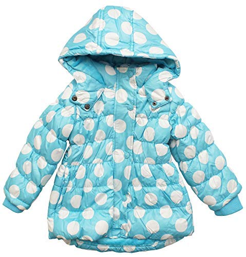 27ff7ef1 Minoti Girls Padded Fleece Lined Spots Hooded Coat Jacket Sizes from 6  Months to 3 Years: Amazon.co.uk: Clothing
