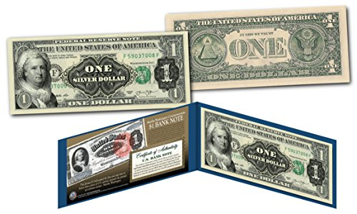 1886 Martha Washington One-Dollar Silver Certificate Hybrid New Modern $1 Bill ()