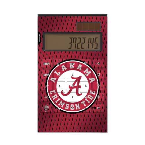 Alabama Crimson Tide Desktop Calculator NCAA by Keyscaper