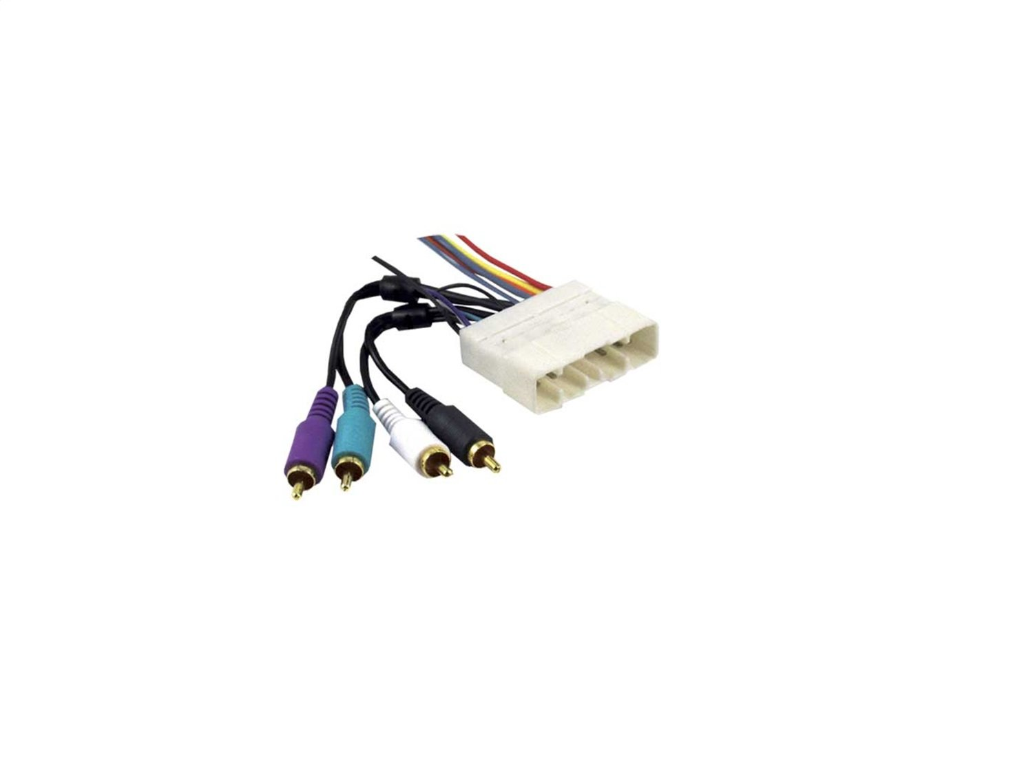 Metra 70-7713 Wiring Harness for 2002 Isuzu Rodeo with Factory Amplifier