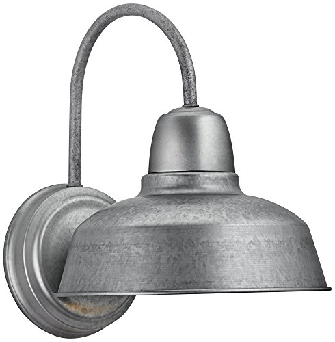 Urban Barn 13 High Galvanized Steel Outdoor Wall Light