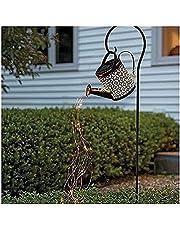 Zonne-tuinverlichting Buiten, Gieter Op Zonne-energie Decoratieverlichting Met IP65 Waterdichte LED-lichtkettingen, Sterrendouche Art Stake-verlichting Met Beugel Voor Gazon Patio Yard Decor