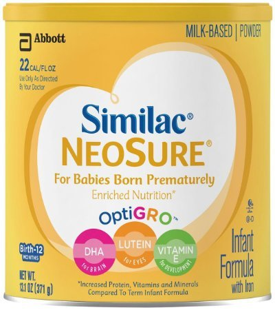 13.1 Ounce, Easy-To-Digest, Milk Based Neosure Baby Formula
