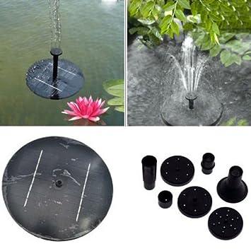 Solarpumpe Springbrunnen Teichpumpe Pumpe Wasserspiel Garten Brunnen Teich VR