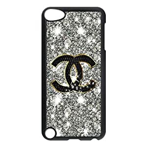 DIY Printed CHANEL hard plastic case skin cover For Ipod Touch 5 SNQ733411
