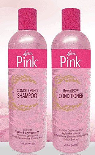 381bfac289da3 Luster's PINK Conditioning Shampoo & RevitaLEX Conditioner by Lusters