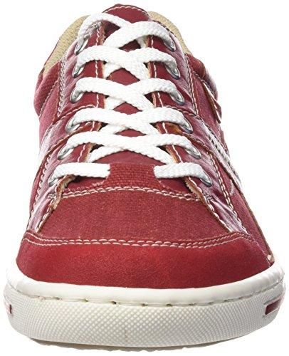 Rieker 19013 Sneakers-men - Zapatillas Hombre Rojo - Rot (fire/mohn/rosso/weiss / 33)
