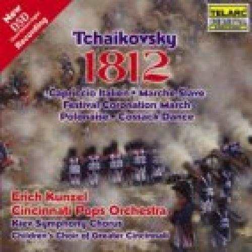 1812 OVERTURE / Erich Kunzel by PETER ILYICH TCHAIKOVSKY [Korean Imported] (2001)