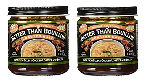 (Better Than Bouillon Lobster Base broth 8.0 OZ (Pack of 2))
