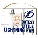 "KH Sports Fan 1001101664 10""x8"" Tampa Bay Lightning Clip It Weathered Baby Logo NHL Photo Frame"