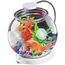 SUNSUN Aquarium Kit Desk Fish Tank Contains 3.5L