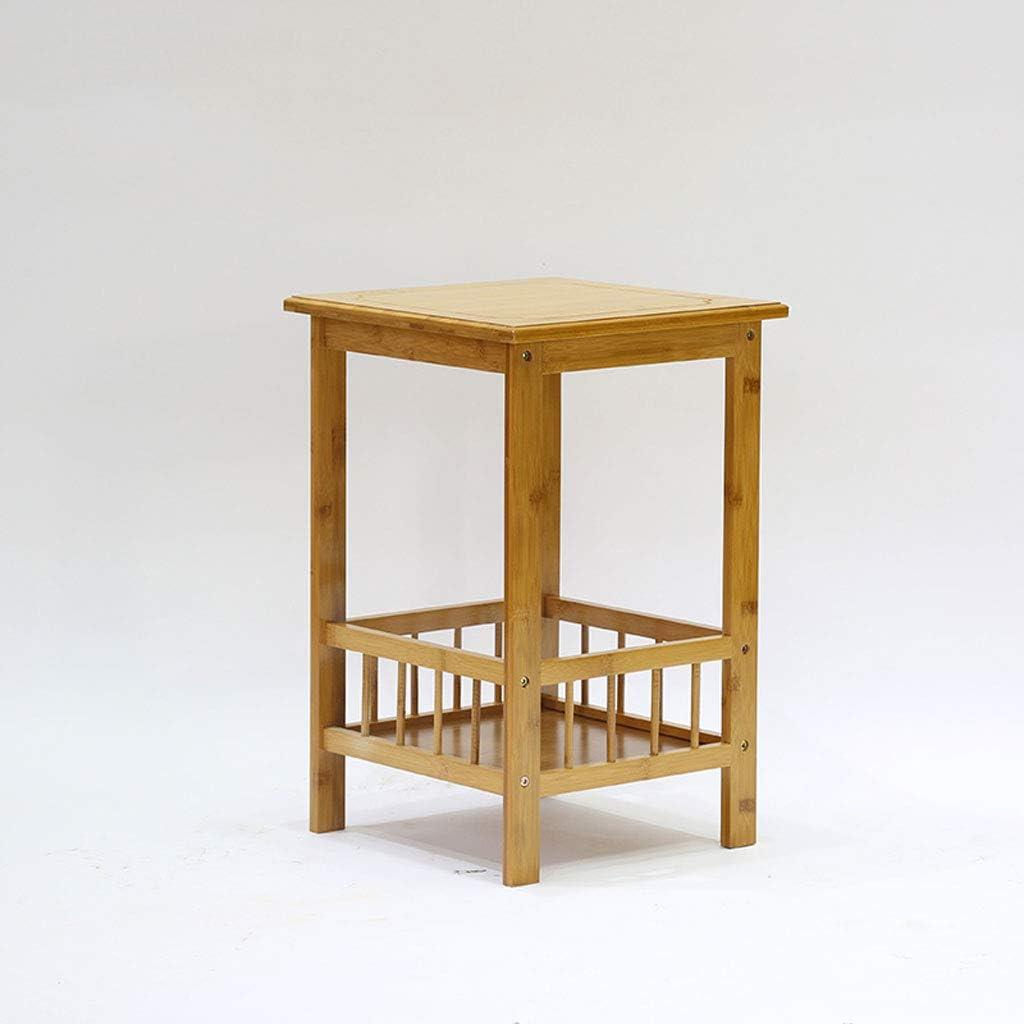 CJH Blumen-Rahmen-Bambus-Holz-mehrschichtiges Blumen-Gestell-Wohnzimmer-Balkon-Blumen-Standboden-Blumen-Topf-Zahnstange