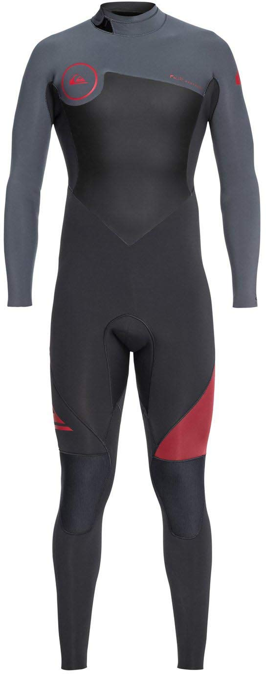 Quiksilver Mens Syncro 3 / 2 mm – Back zipフルウェットスーツBack Zip Full Wetsuit B07DWVXLSN Graphite/Ash Ls Ls|Graphite/Ash